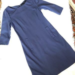 Harve Benard Purple Dress with Pockets Sz S